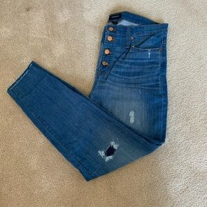 J.Crew Skinny jeans worn look - Size 31